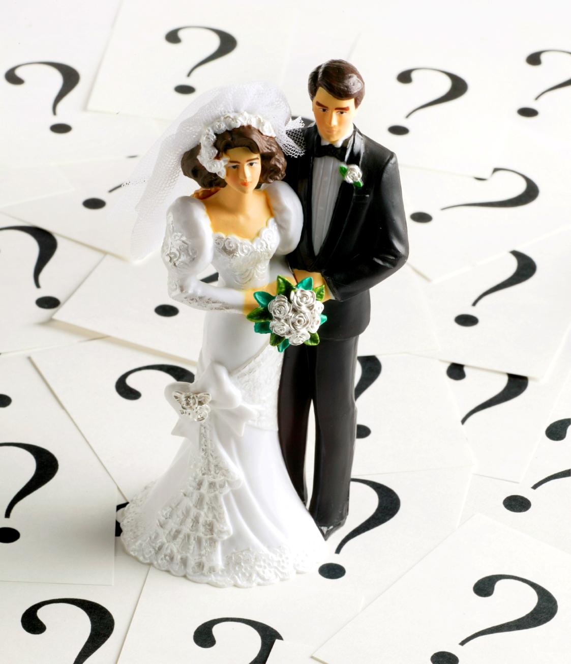 Свадебные вопросы