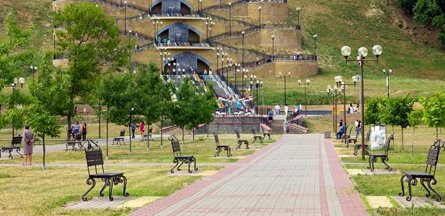 Подниколье - парк дендрарий в Могилеве.