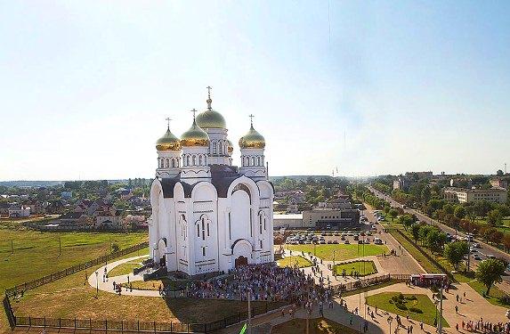 Спасо-Преображенский собор в Могилеве.