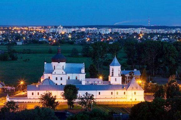 Церковь Святого Николая и монастырь Подниколье в Могилеве.
